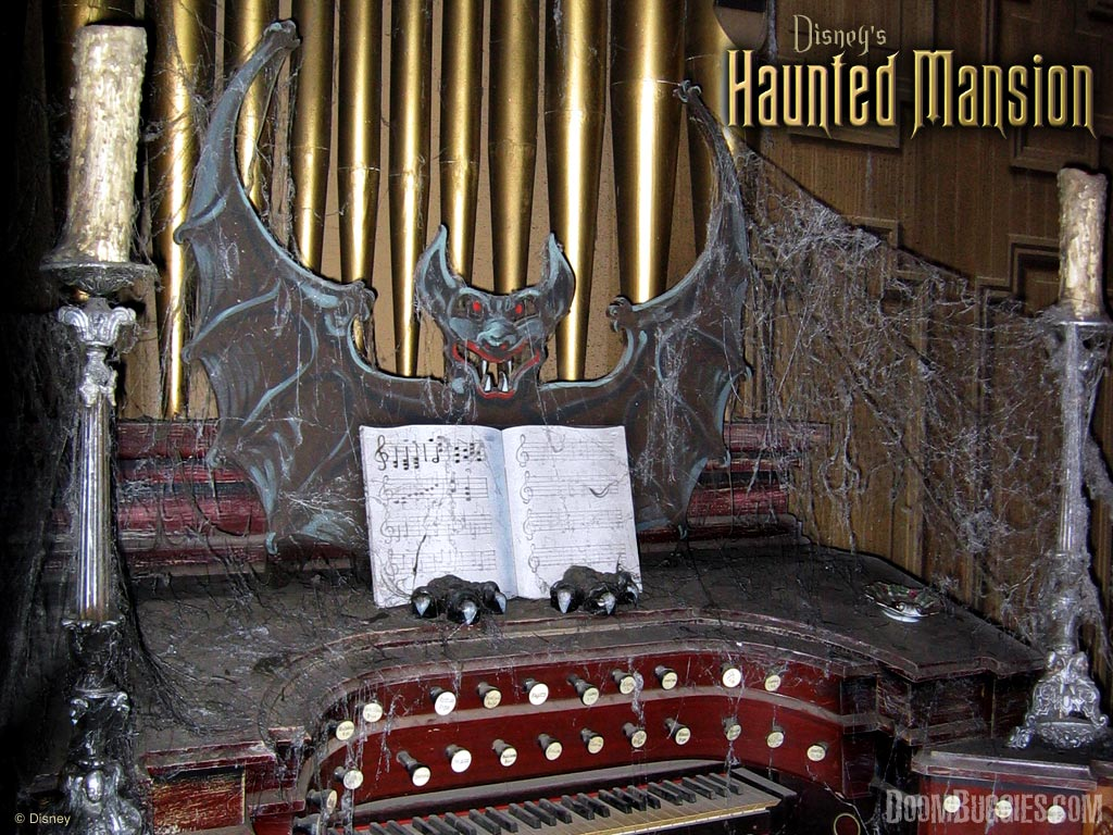 Haunted Mansion Foyer Organ Sheet Music : Doombuggies gt explore the history and marvel at